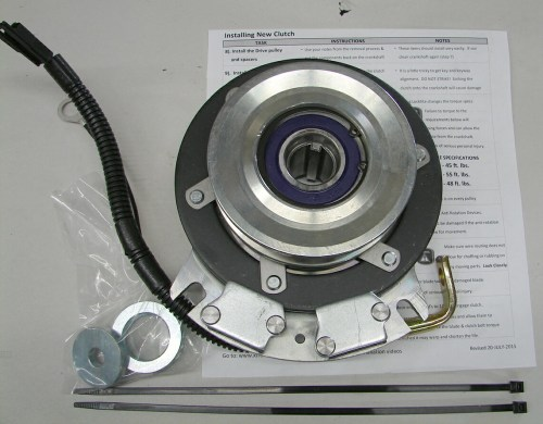 small resolution of new aftermarket replacement super heavy duty front electric pto assembly