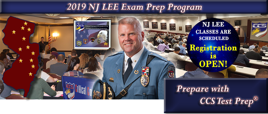 NJ LEE - Law Enforcement Exam Prep (Civil Service) - CCS Test Prep