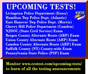 Current Testing Opportunities - CCS Test Prep®