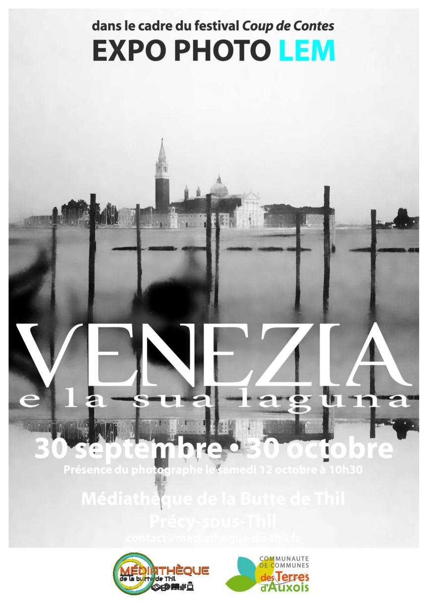 Exposition photos «Venezia e la sua laguna»