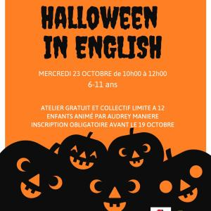 Halloween in English !