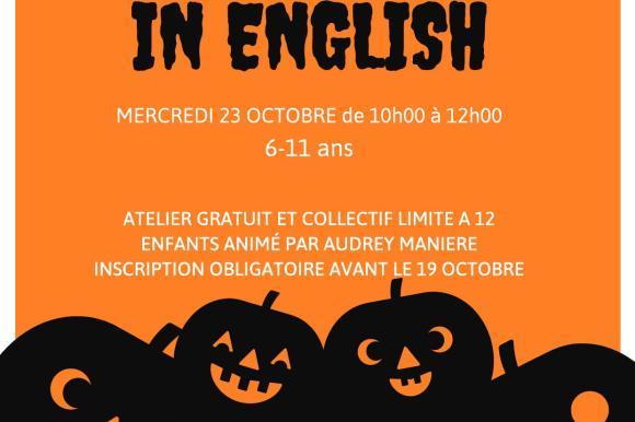 Halloween in English !