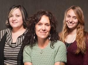 2013 Seabury Fellows Xena Montoya, Tara Trudell and Arianna Andreatta