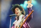 Prince performs at the Forum in Inglewood, Calif