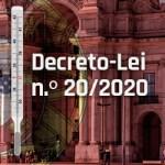 Decreto-Lei n.º 20/2020 – Empresas já podem medir temperatura dos funcionários.