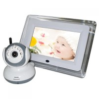 7-Inch LCD Screen Wireless Baby Monitor Camera System with ...