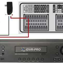Cctv Dvr Wiring Diagram Blank Scapula Alarm Output Setup For Idvr Pro H 264 Surveillance Dvrs