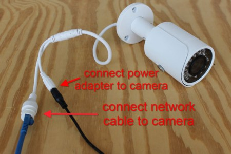 Poe Ip Camera Wiring Diagram How To Connect An Ip Camera To A Computer Cctv Camera