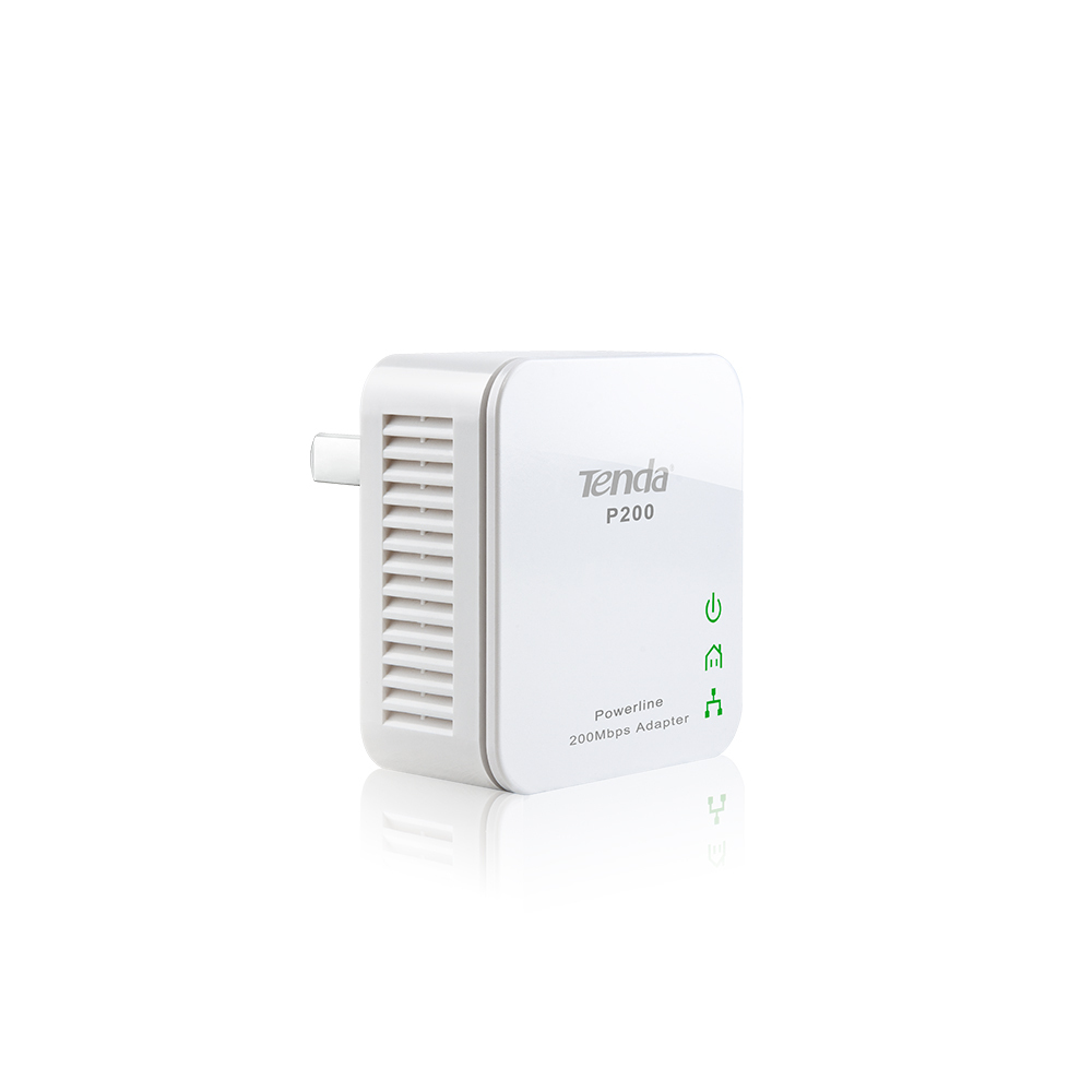medium resolution of  tenda p200 200mbps powerline mini adapter kit irl uk or eu plug