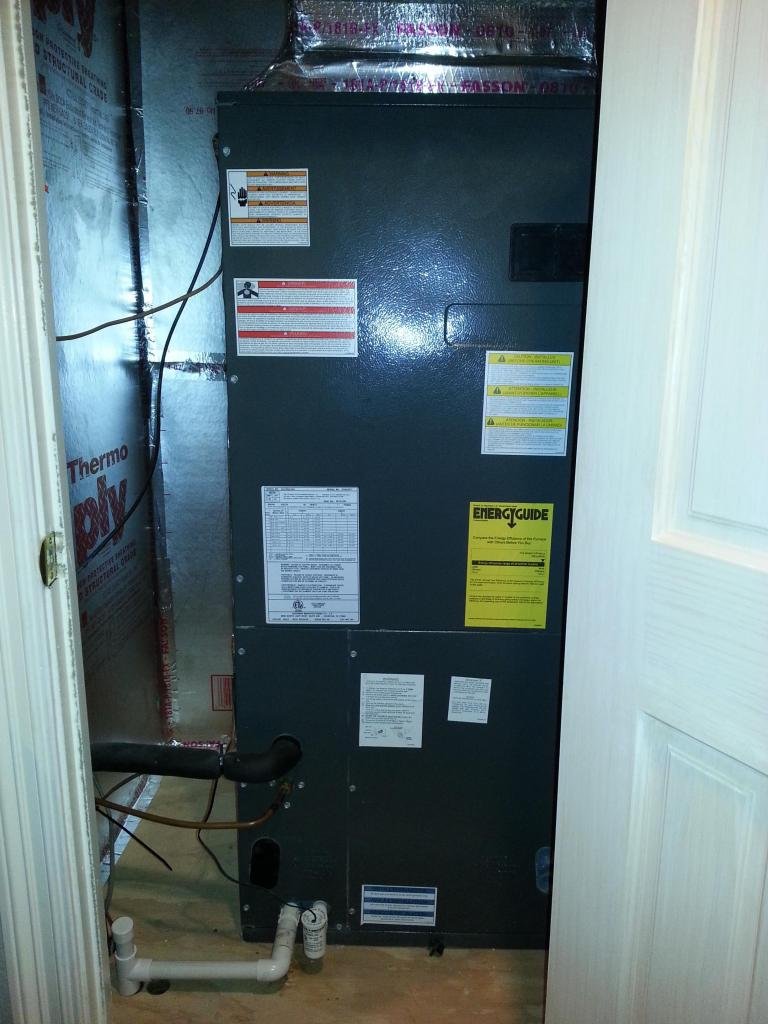 Installing PCswitch in airhandler closet  interference