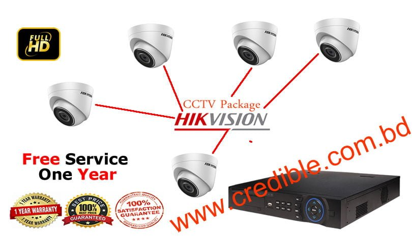 Hikvision CCTV Package price