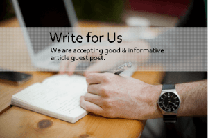 We are accepting good and informative guest post