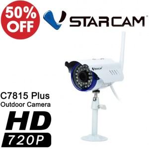 CCTVSG.NET Vstarcam C7815WIP Plus 720P Outdoor Waterproof Wireless IPCamera