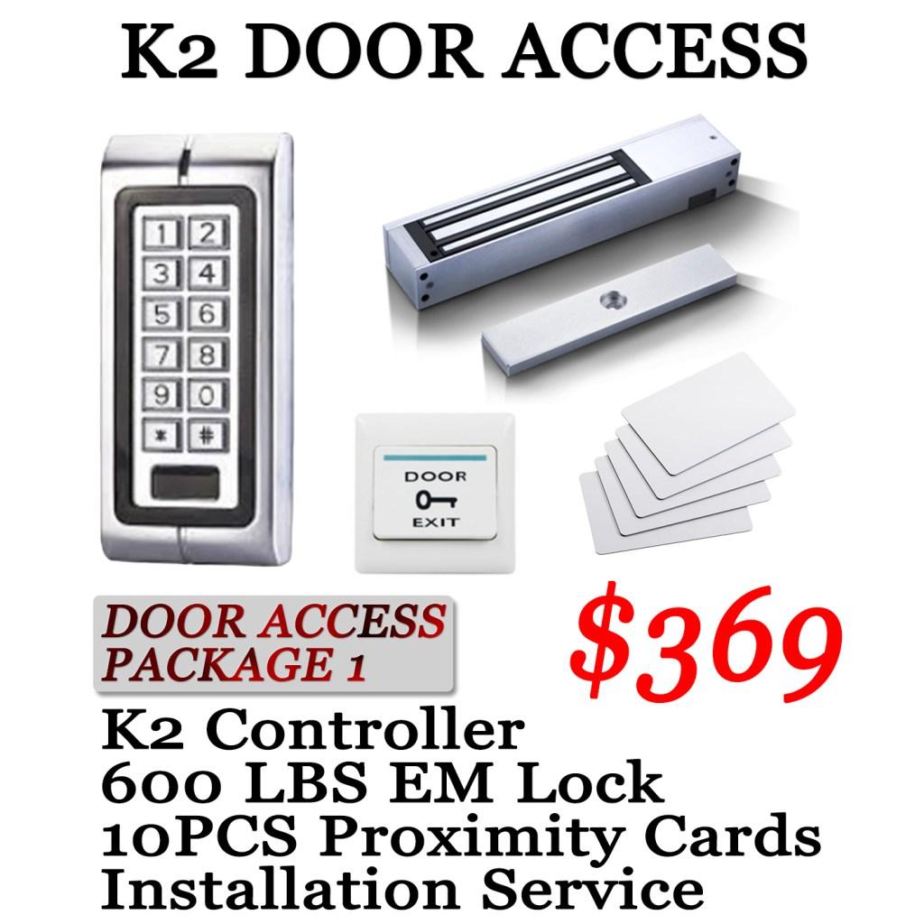 promotion door access K2 111