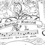 Coloring 3rd Sunday after Pentecost