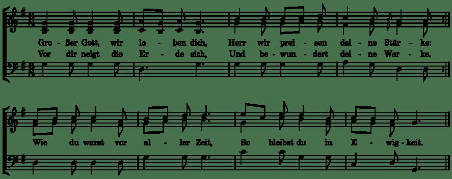Grosser Gott from Katholisches Gesangbuch
