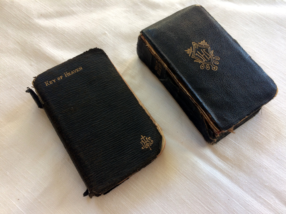 Two copies of Key of Heaven