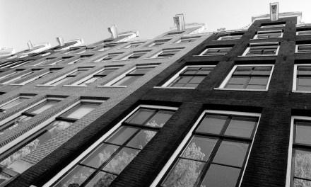 Amsterdam facciate oblique