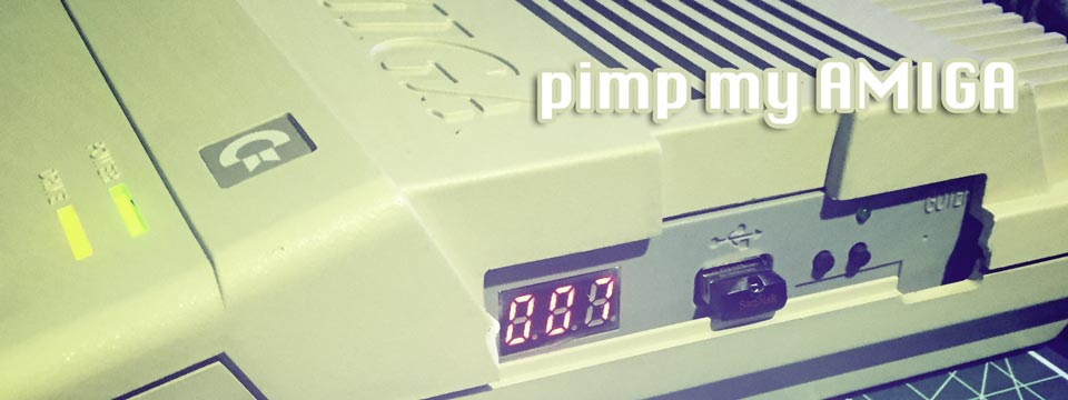 Gotek Amiga USB Floppy Drive emulator
