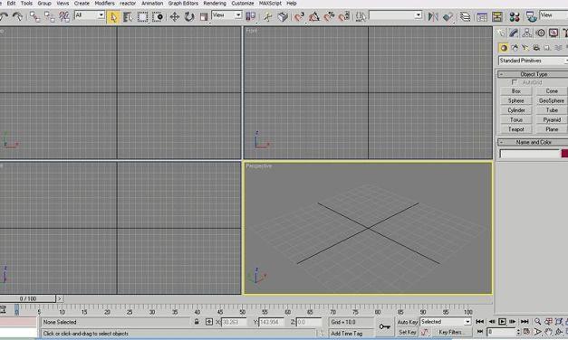 3D Studio MAX 4 – raccolta video corso