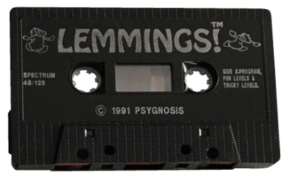 Lemmings Spectrum cassette