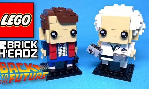 Lego Brick Headz 41611 Marty McFly & Doc Brown