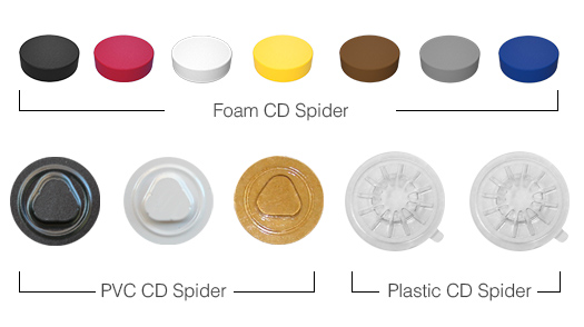 CD Spider, CD holder, DVD Spider