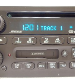 gmc envoy chevy bose radio receiver tape cassette deck cd player oem rh ebay com gmc radio wiring diagram gmc radio wiring diagram [ 1920 x 1080 Pixel ]