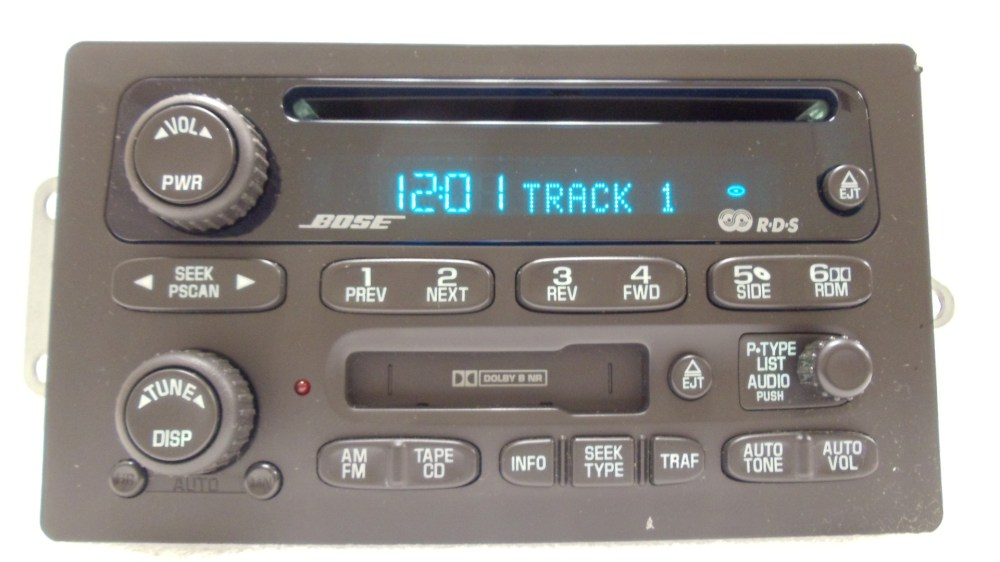 medium resolution of gmc envoy chevy bose radio receiver tape cassette deck cd player oem rh ebay com gmc radio wiring diagram gmc radio wiring diagram