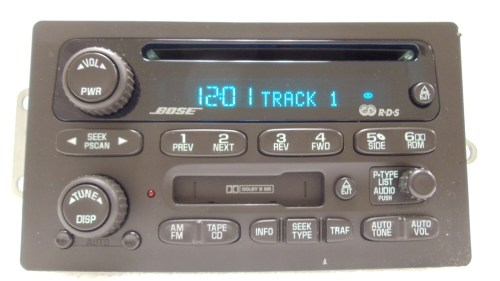 small resolution of gmc envoy chevy bose radio receiver tape cassette deck cd player oem rh ebay com gmc radio wiring diagram gmc radio wiring diagram