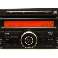 2007 Nissan Versa Radio Wiring Diagram Warn Winch Remote Rogue Oem Mp3 Cd Player Ipod Aux