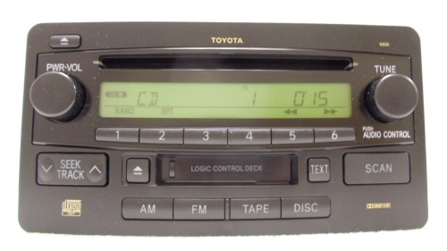 small resolution of details about 03 04 toyota tundra sequoia oem jbl am fm radio stereo tape cassette cd player