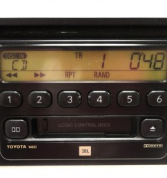86120 08040 86120 aa020 86120 33220 86120 0c020 repair service only toyota am fm radio stereo  [ 1280 x 742 Pixel ]