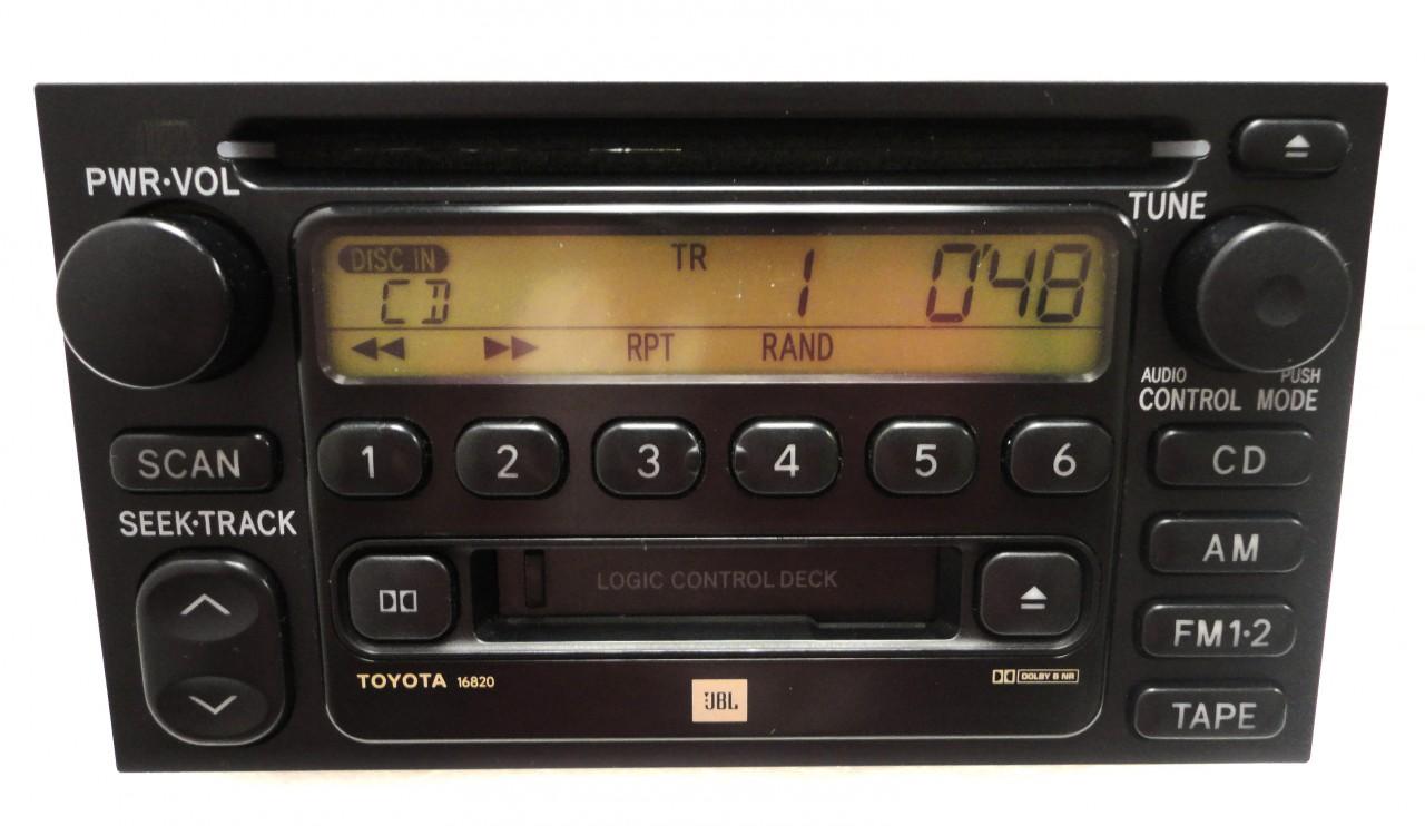 1999 toyota corolla stereo wiring diagram headphone volume control repair service only am fm radio single cd player factory oem fix | ebay