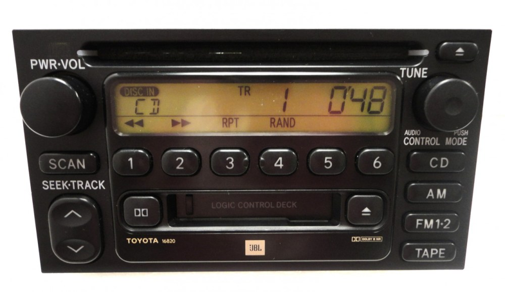 medium resolution of 86120 08040 86120 aa020 86120 33220 86120 0c020 repair service only toyota am fm radio stereo