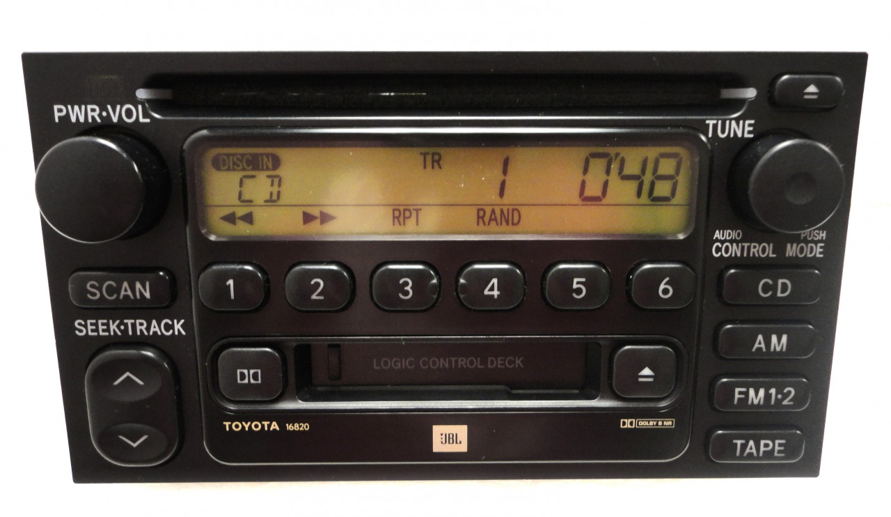 hight resolution of 86120 08040 86120 aa020 86120 33220 86120 0c020 repair service only toyota am fm radio stereo