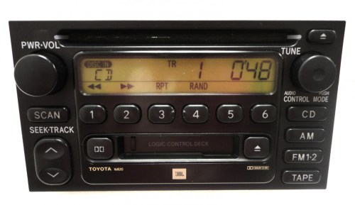 small resolution of 86120 08040 86120 aa020 86120 33220 86120 0c020 repair service only toyota am fm radio stereo