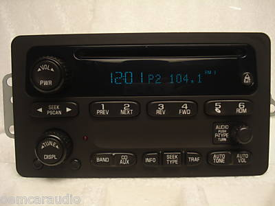 2005 chevy impala radio wiring diagram home light 2002 2003 2004 venture malibu monte carlo cd player | ebay