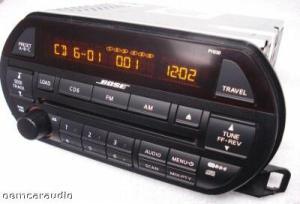 02 03 04 NISSAN Altima BOSE Radio Stereo 6 Disc Changer CD