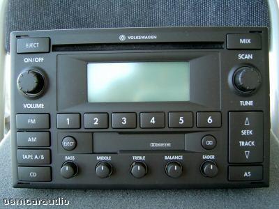2013 Volkswagen Jetta Fuse Box Code 02 03 04 05 Vw Volkswagen Monsoon Radio Stereo Tape Cd