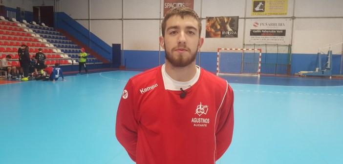 Aarón González, jugador Agustinos