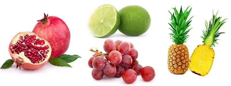 Granada-Uvas-piña-y-Limon-Para-El-Sistema-Inmunologico
