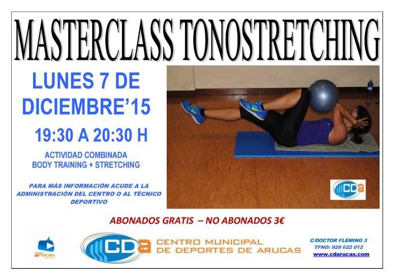 CARTEL masterclass TonoStretching. CDA 7 dic'15