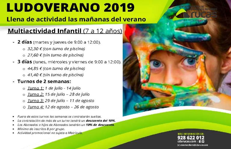Ludoverano Arucas 2019
