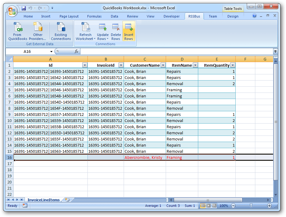 create invoices in excel