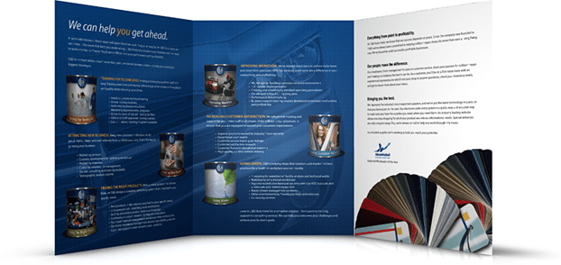 Company Brochure C&D Auto Paint
