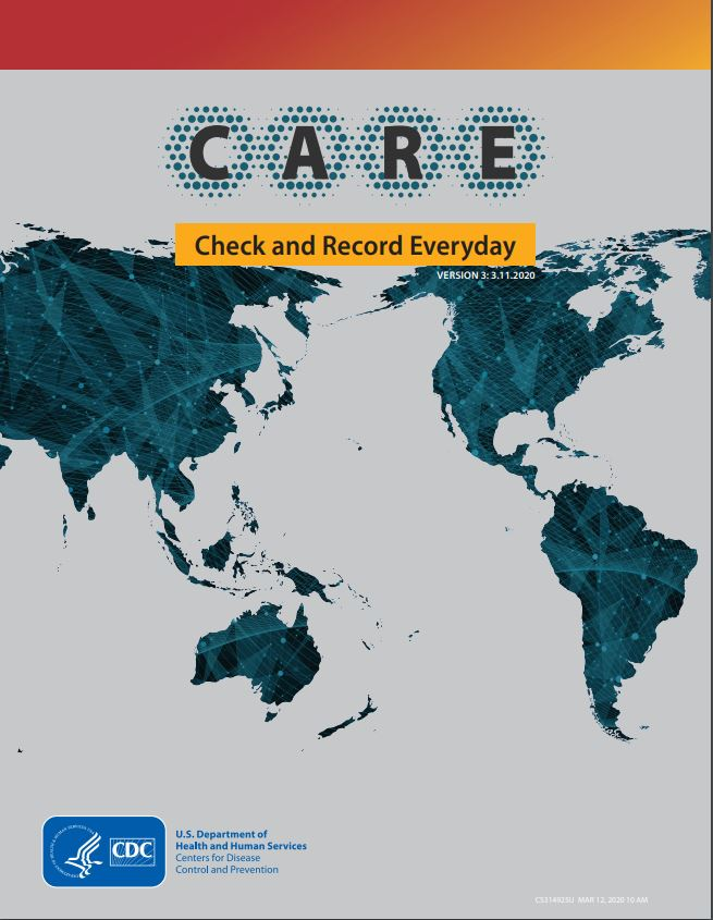 COVID-19 Check and Record Everyday Booklet – China | CDC