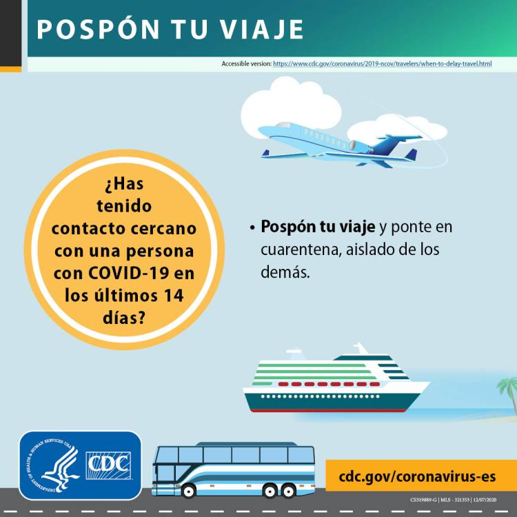 Know When Not to Travel to Avoid Spreading COVID-19 | CDC