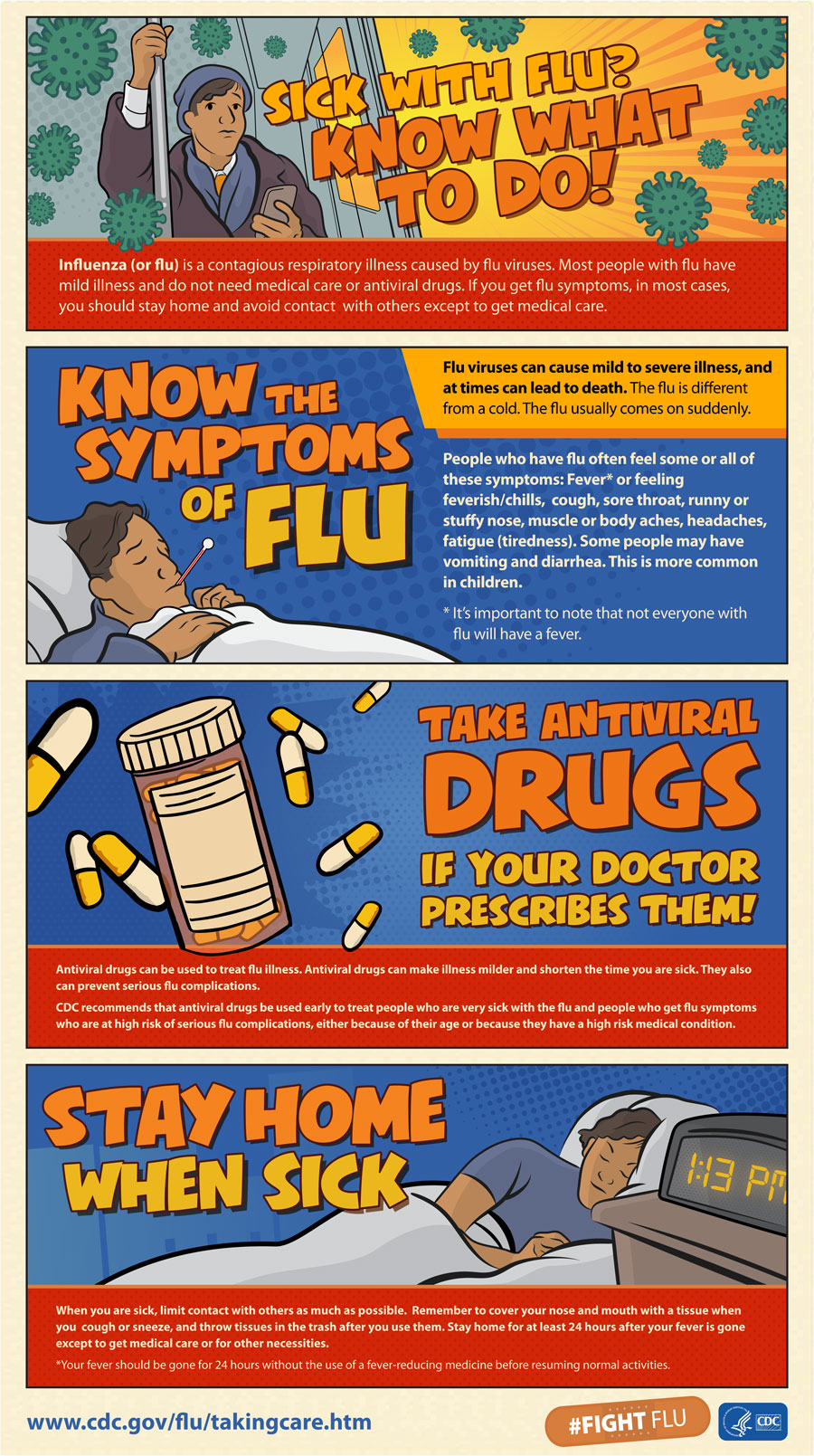 Sick With Flu? Know What to Do! | CDC