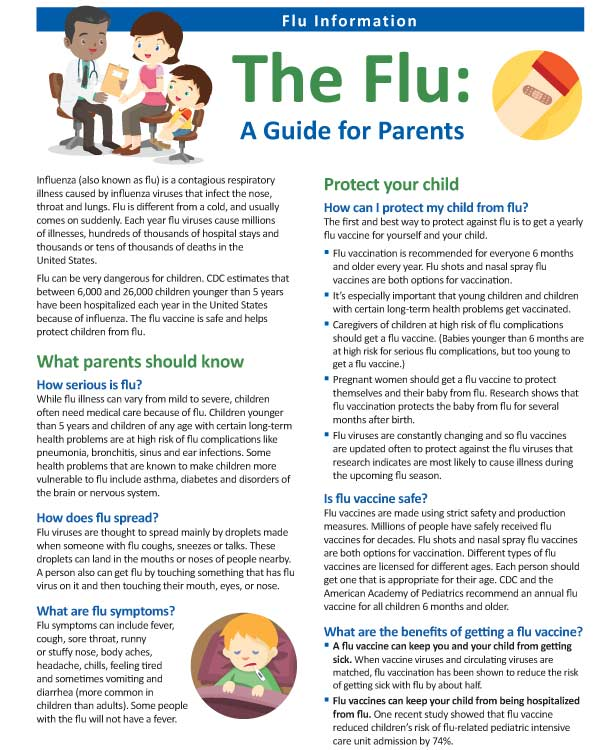 CDC Digital Media Toolkit: 2019-20 Flu Season | CDC